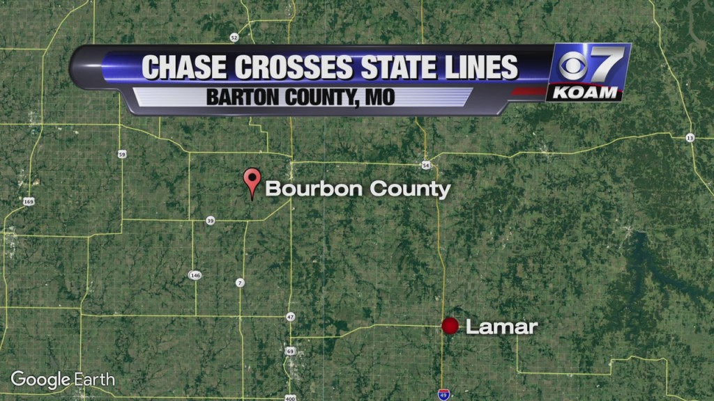 High Speed Chase Crosses State Lines