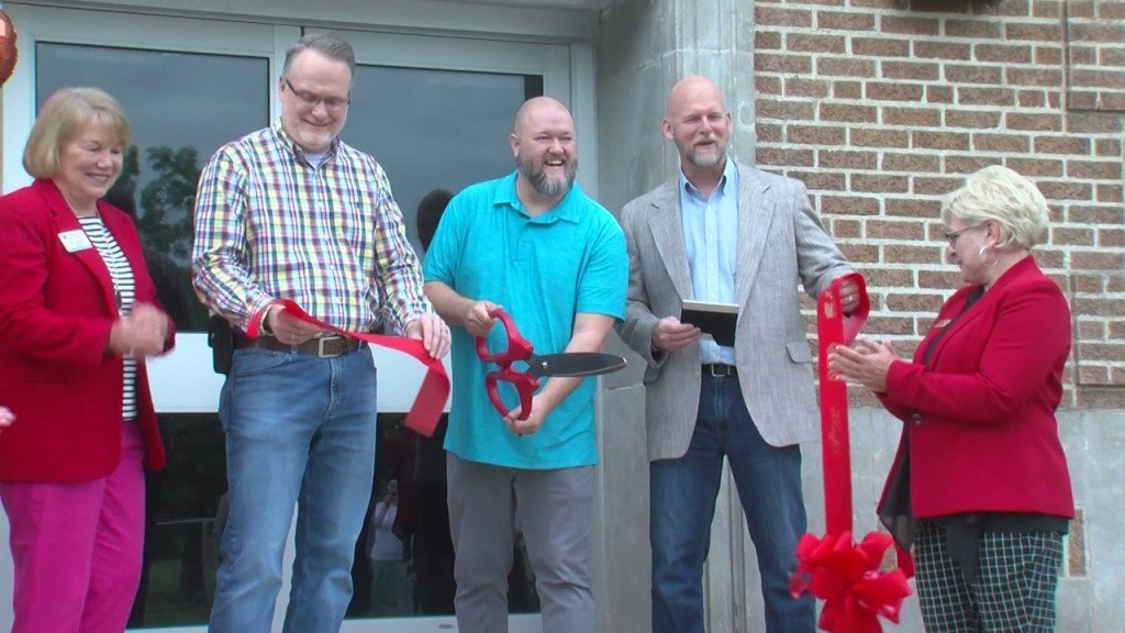 Ribbon Cutting For A Joplin Shelter