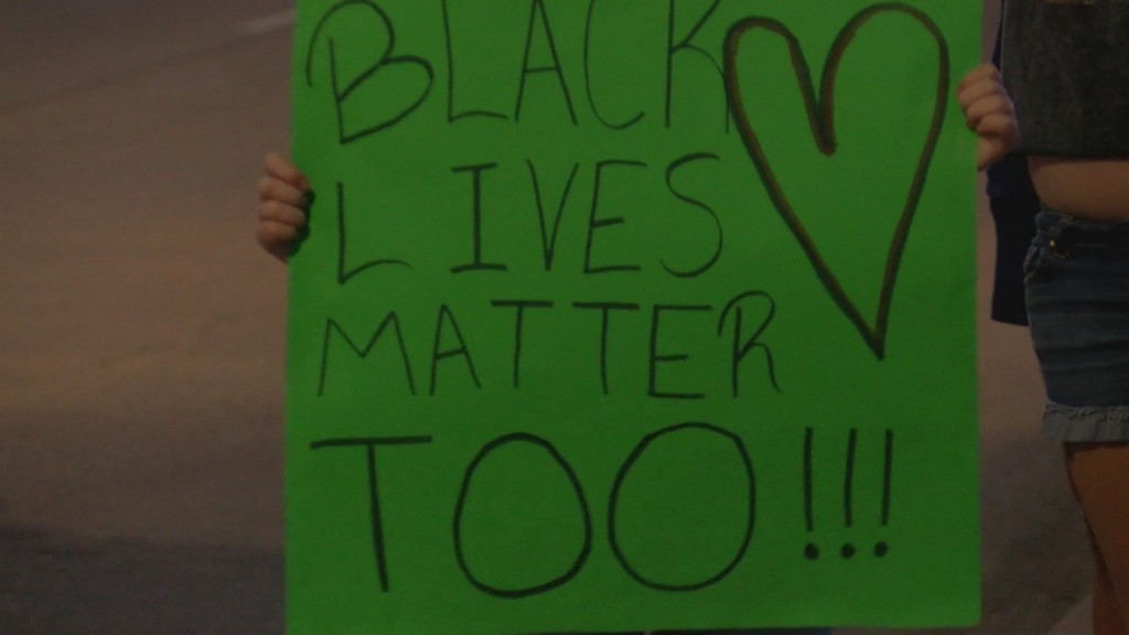 Protesters Gathered In Miami, Oklahoma To Protest George Floyd's Death