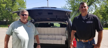 Kdwpt Donates 2 000 Pounds Of Elk And Bison Meat To Local Food Banks Imagelarge