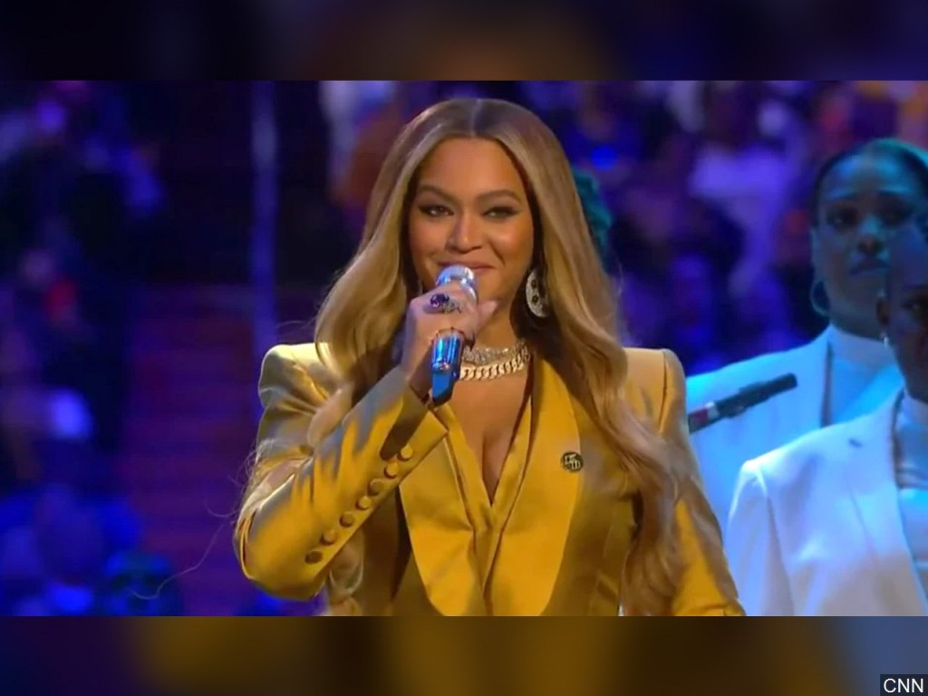 Beyoncé shares video of mobile Covid-19 testing sites she set up in her hometown
