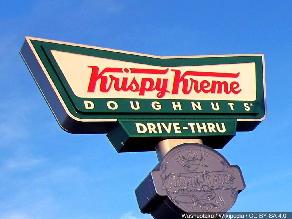 Krispy Kreme is giving away free donuts to graduating seniors dressed in their caps and gowns