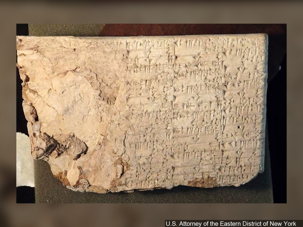 US wants to send ancient artifact Hobby Lobby bought for $1.6 million back to Iraq