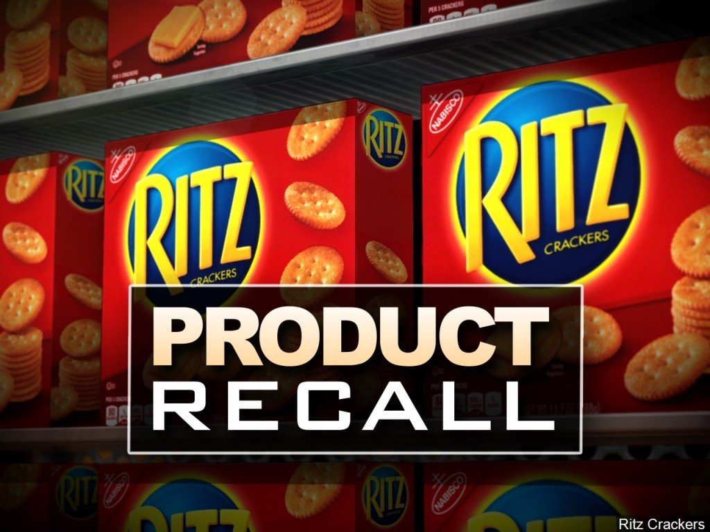 Ritz cheese cracker sandwiches recalled after they were found to be peanut butter instead