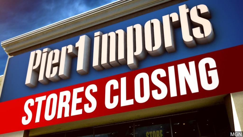 Pier 1 Imports Closing Graphic