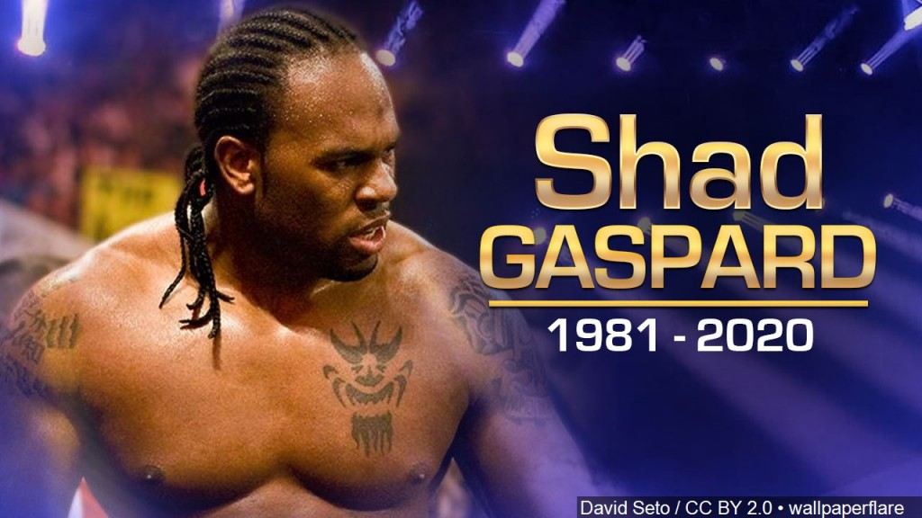 Shad Gaspard 1981 – 2020. American Professional Wrestler And Actor. He Was Best Known For His Time With Wwe