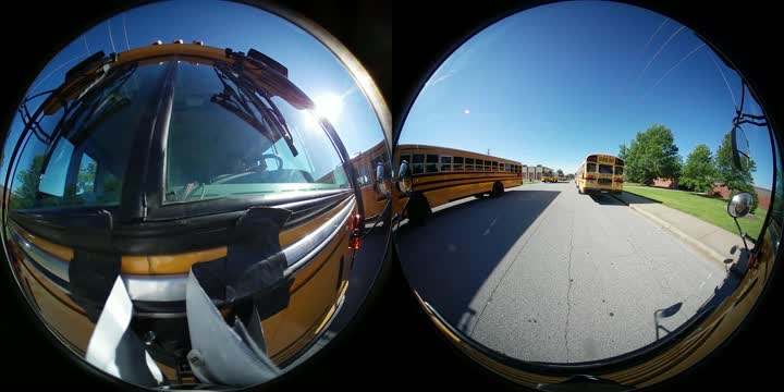 Bus Parade Celebrates Last Day Of School In Carl Junction