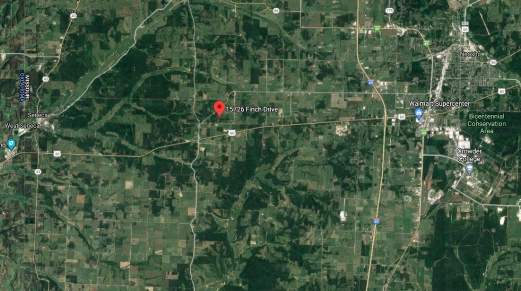 15726 Finch Drive, Newton County, Mo, Homicide Investigation May 2020