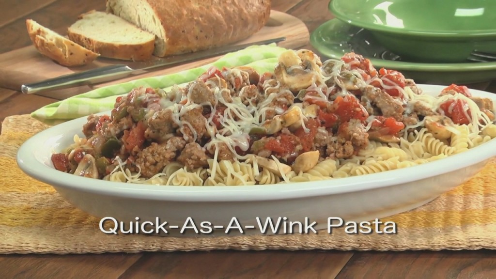 Mr. Food: Quick As A Wink Pasta