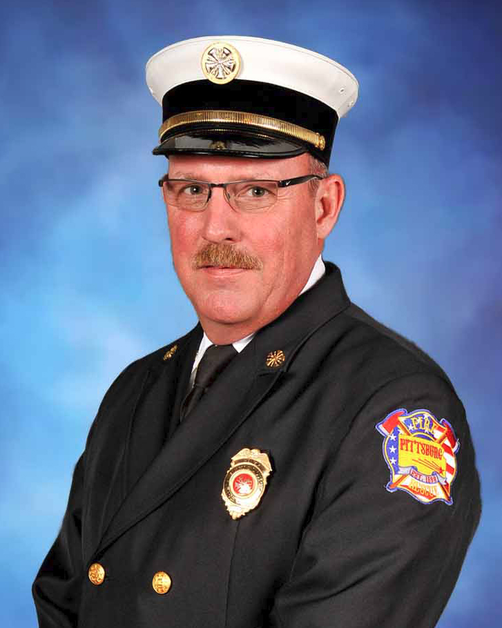 Pittsburg Fire Chief Mike Simons