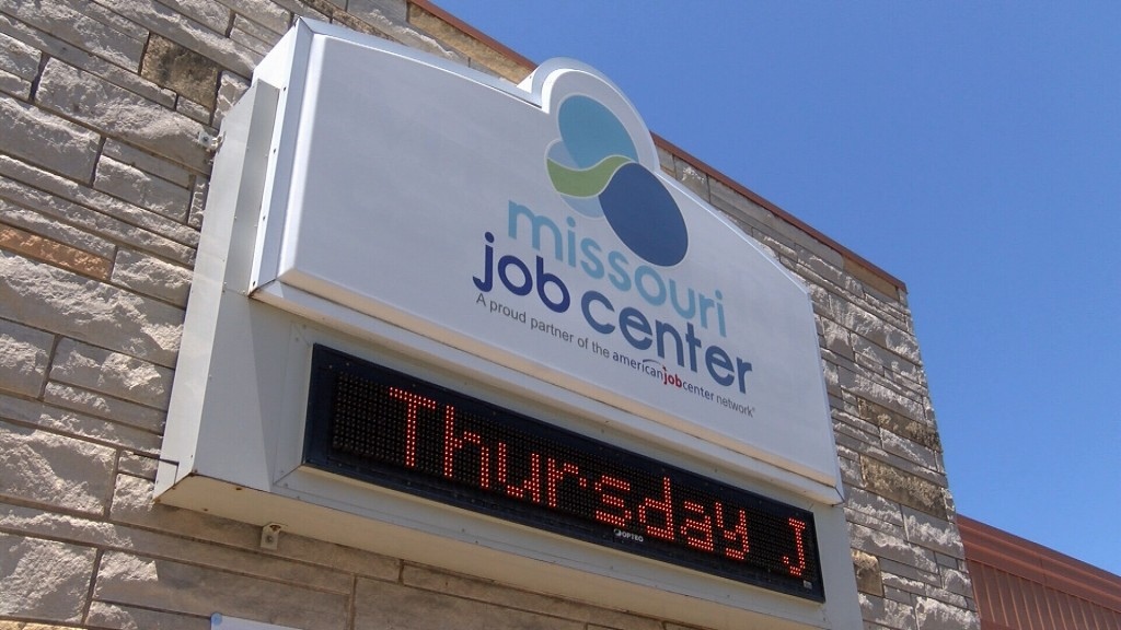 Missouri Job Center Sign