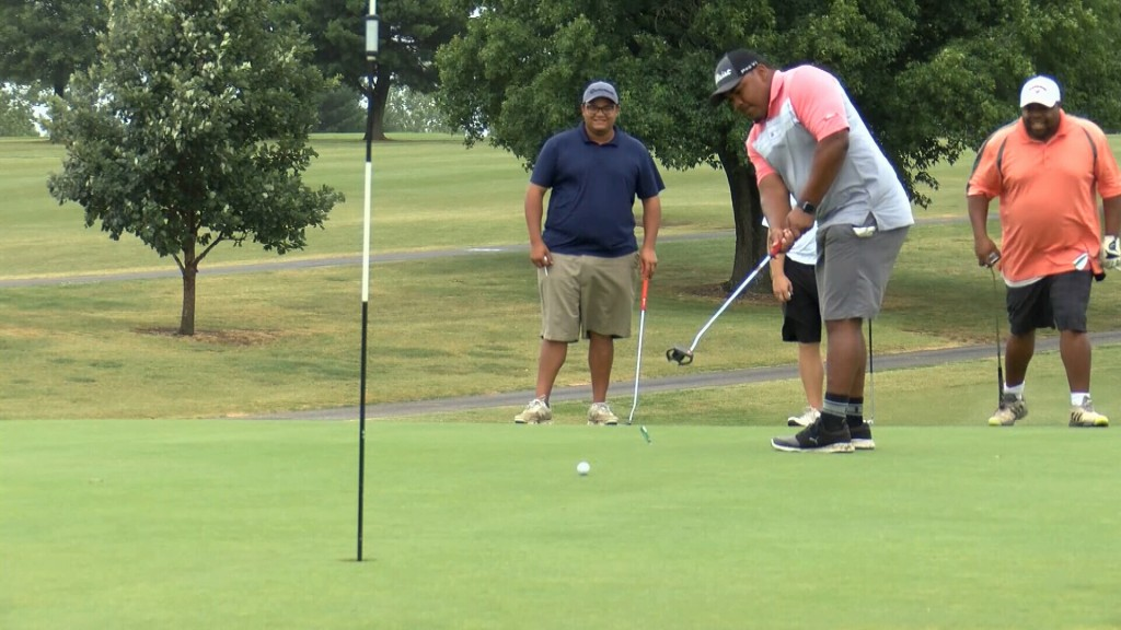 People Have Fun At Charity Golf Tourney