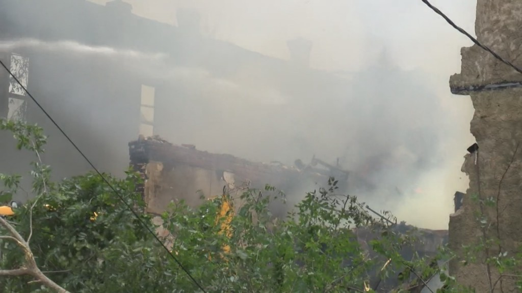 Historic Area Building Burns Down in afton