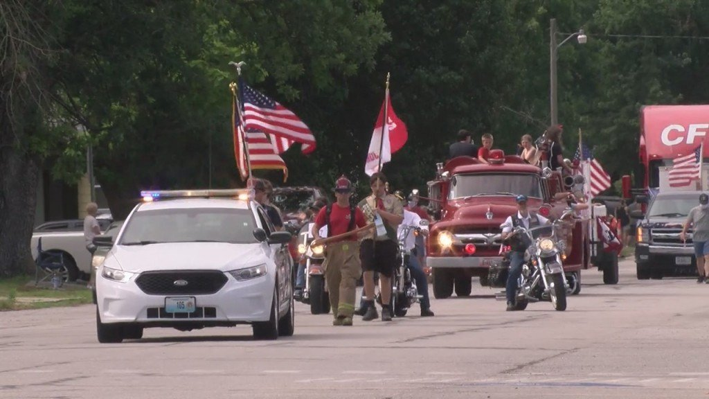 The Annual 4th Of July Parade In Carl Junction Marched On This Morning
