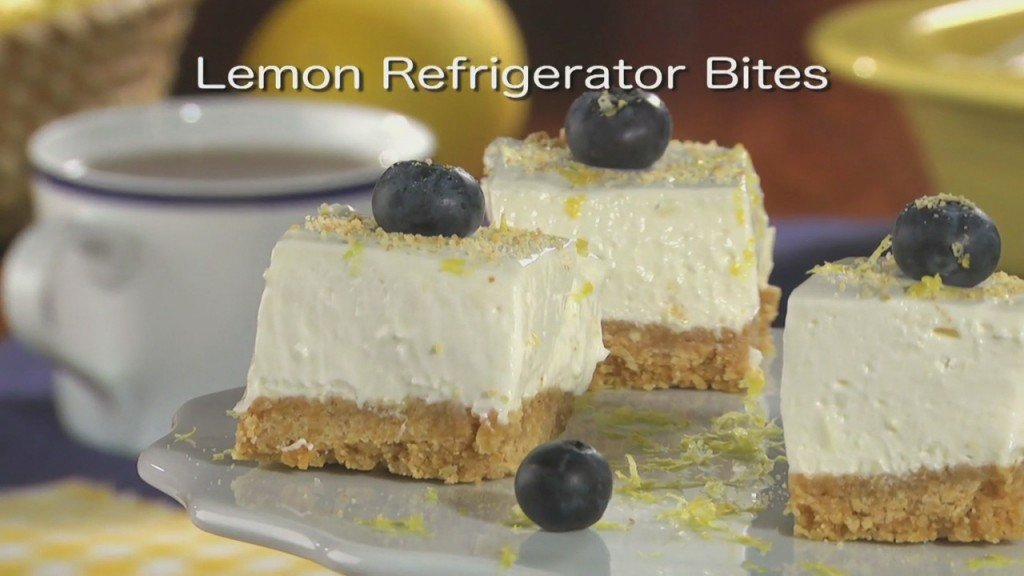 Mr. Food: Lemon Refrigerator Bites