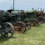 A Variety Of Old Tractors