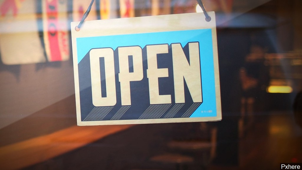 Business Open Sign, Mgn Image