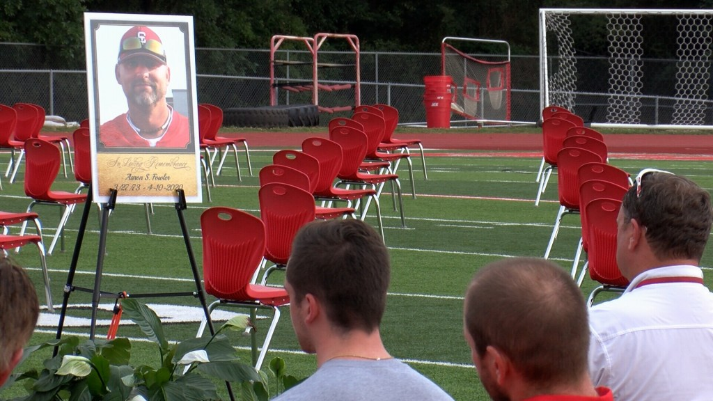 Carl Junction remembers coach Aaron Fowler.