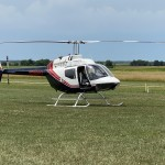 Helicopter After Landing
