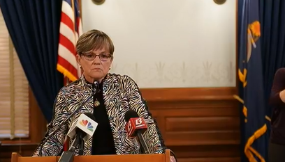 Kansas Governor Laura Kelly During July 20, 2020 Briefing