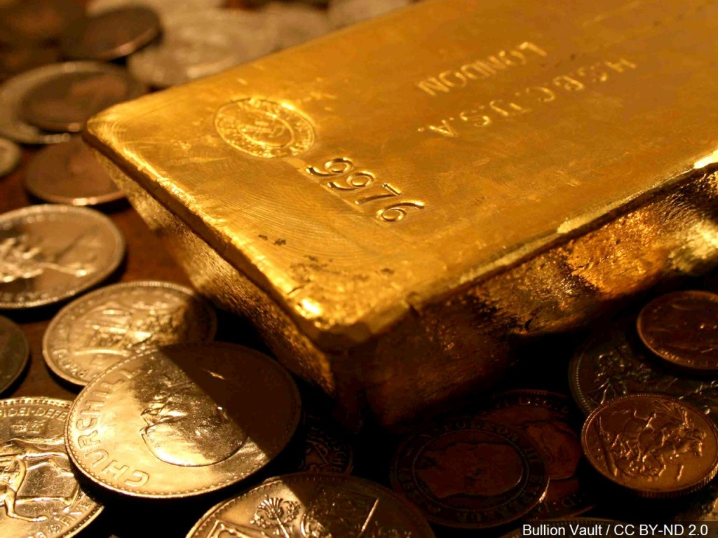 Gold price hits record high on new fears for the economy