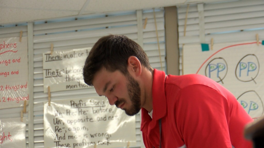 Cameron Tournear is a 4th grade teacher at Eugene Field Elementary School in Webb City and he is eager to see his students this year.