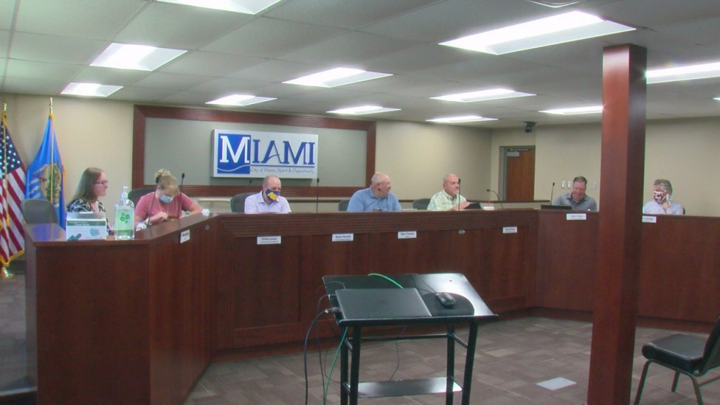 Miami City Council Meets And Discusses The Increase In Utility Bills