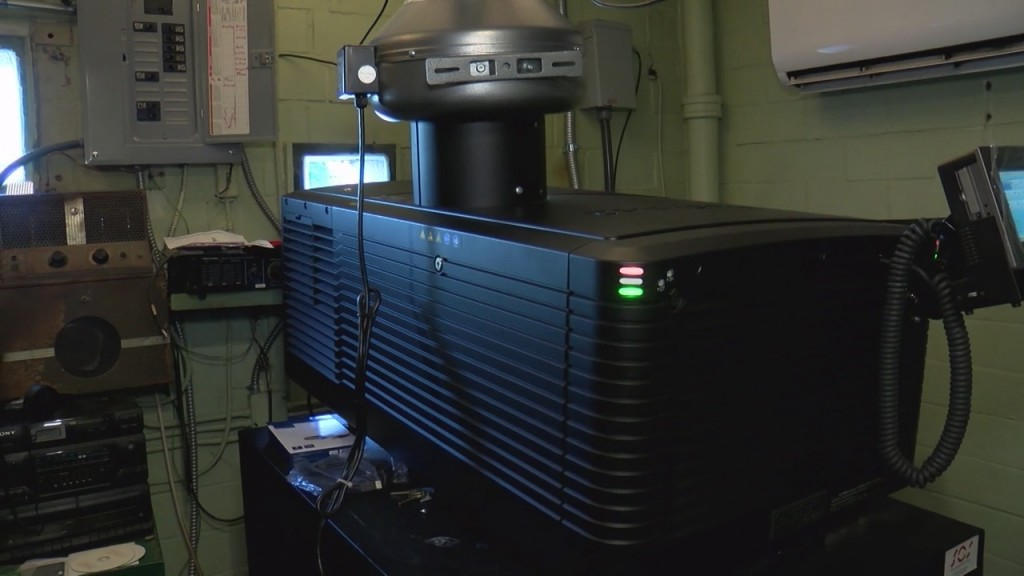 Area Drive In Receives New Projector Thanks To Donations
