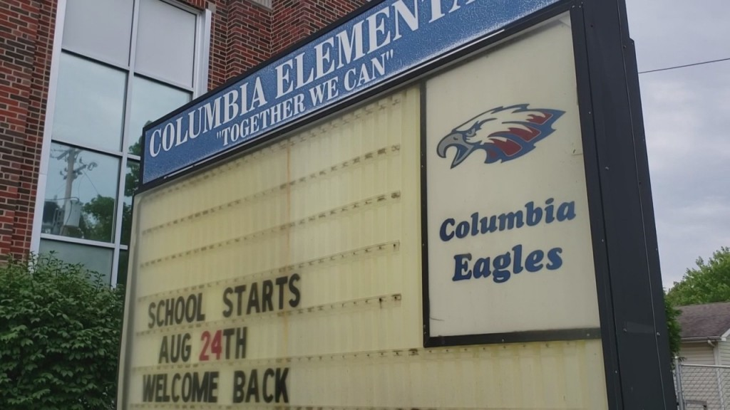 Columbia Elementary Introduces Their Outdoor Classroom