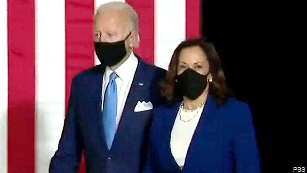 Joe Biden And Kamala Harris, Aug 12, 2020