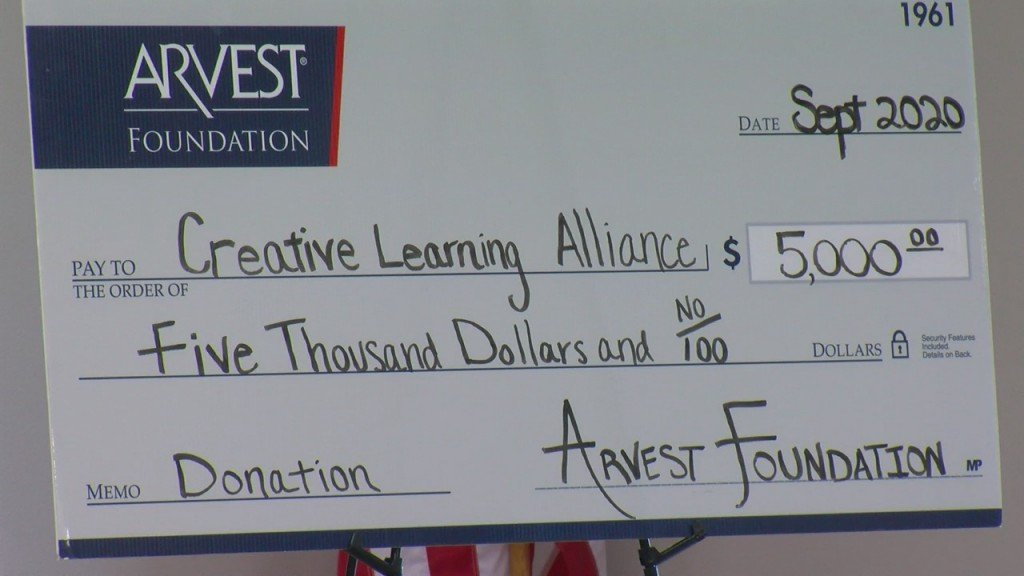 Creative Learning Alliance Receives Donation