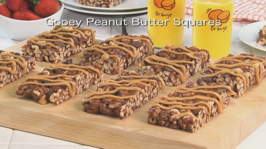 Mr. Food: Gooey Peanut Butter Squares
