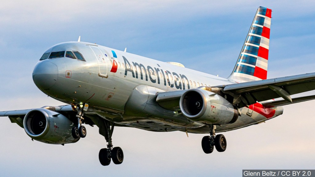 American Airlines Plane, Mgn Image