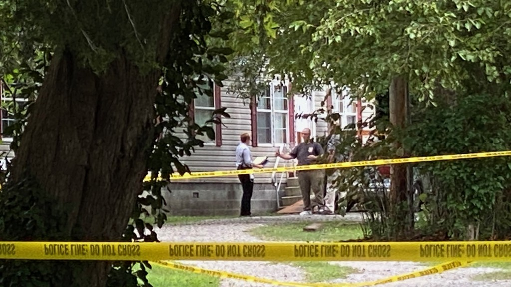 Crime Scene On N. Warren Street In Pittsburg, Kan., Sept. 15, 2020 (3)