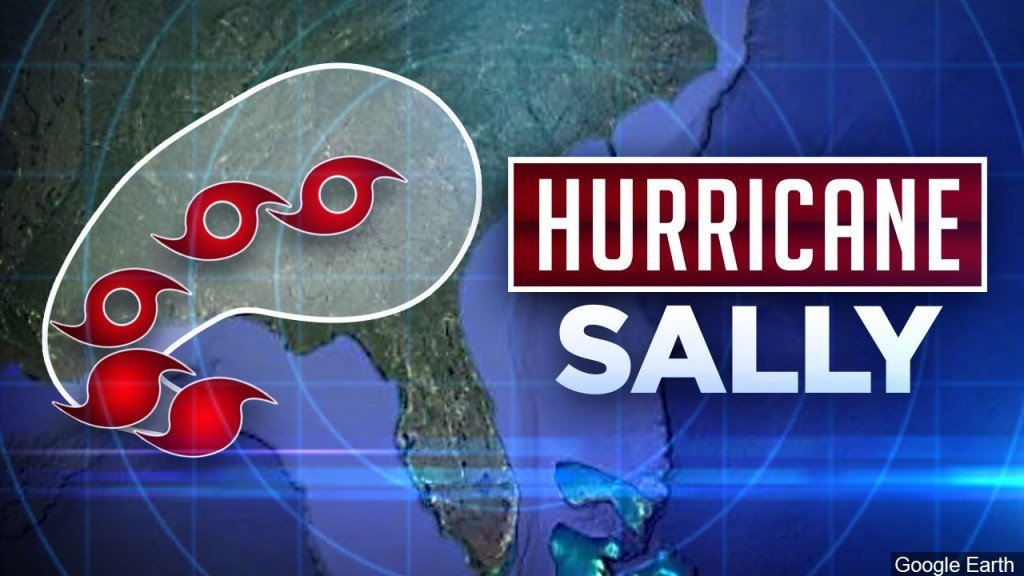 Hurrican Sally Graphic