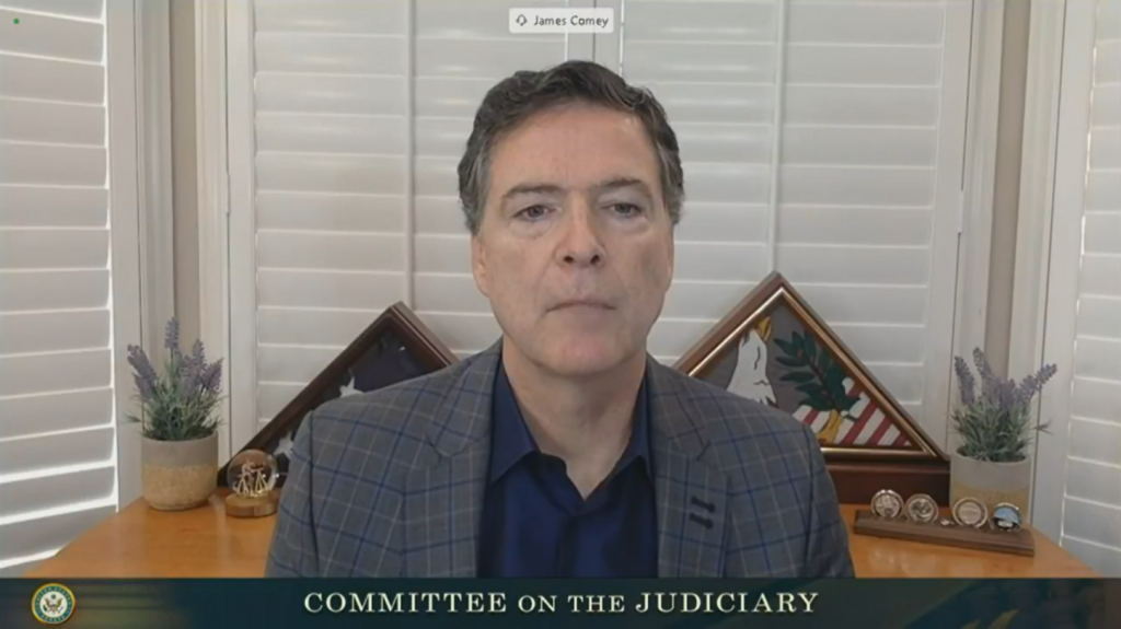 James Comey Questioned By Committee On The Judiciary