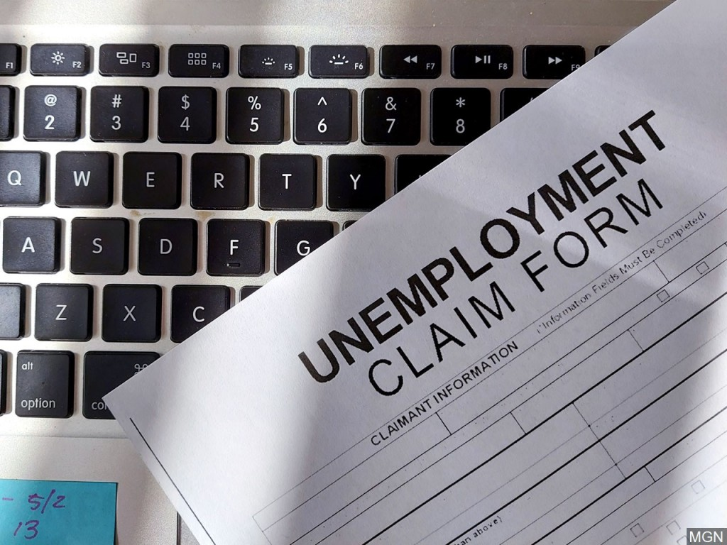 Jobless claims fall to 881,000 but layoffs remain elevated