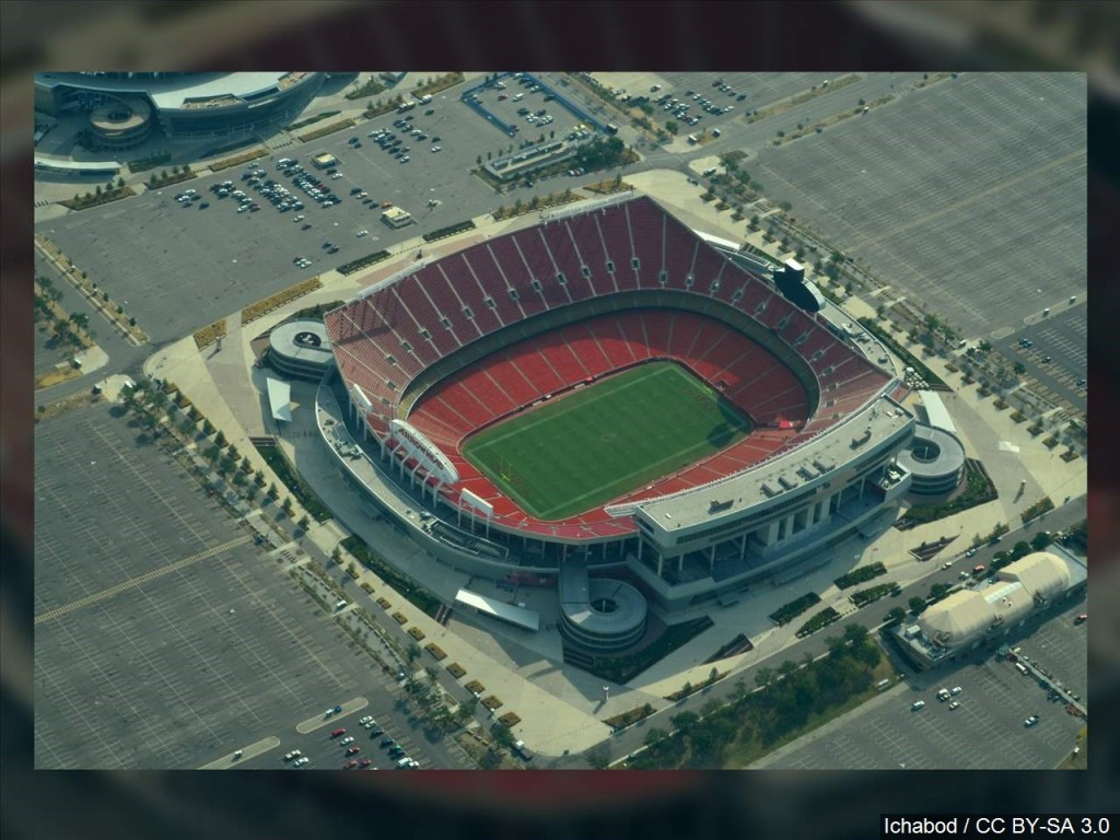 Man charged for standoff outside Arrowhead Stadium