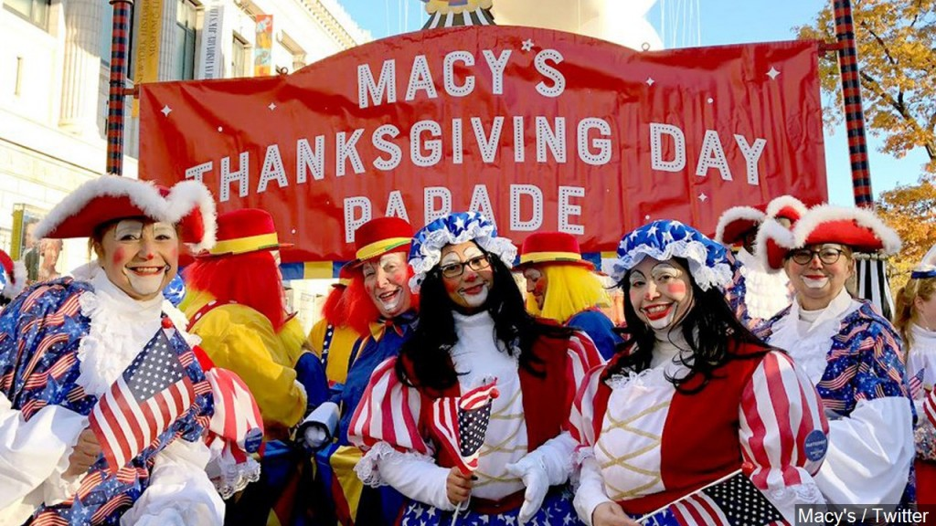 Macy's Thanksgiving Day Parade Image
