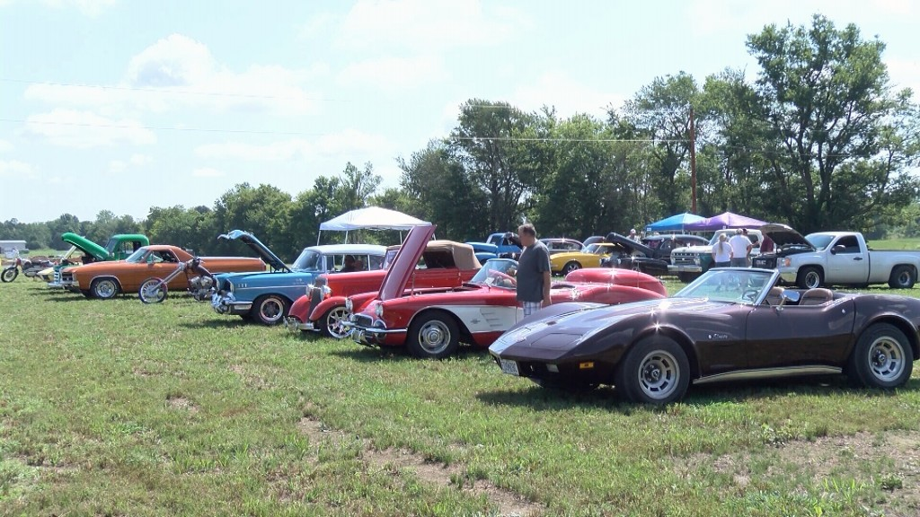 Cool Cars At A Neosho Car Show