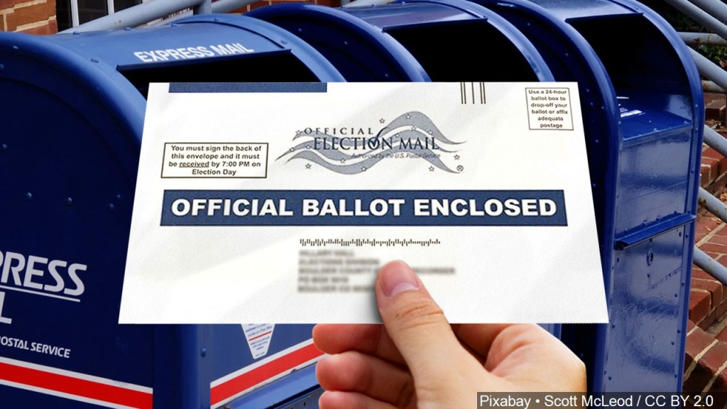 Mail In Ballot Graphic