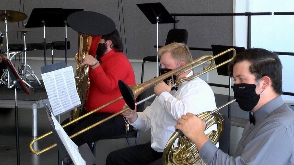 Psu Music Majors Practice For Virtual Concert