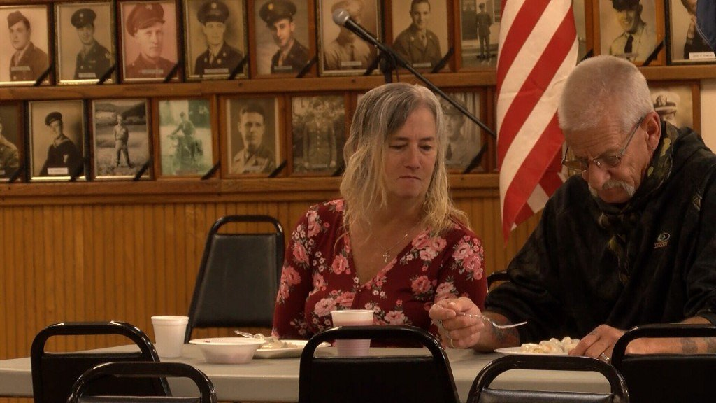 Visitors Enjoy Breakfast At The Carthage Vfw