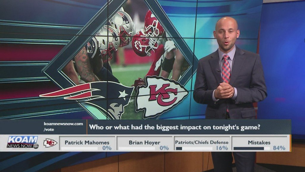 Koam News Now Instapoll: Patriots V Chiefs
