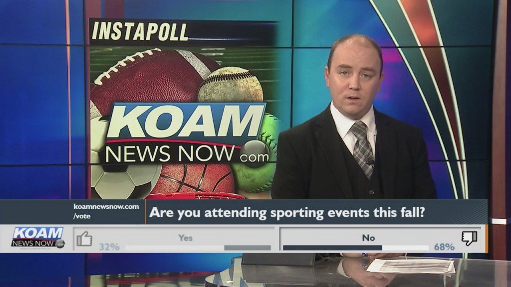 "Koam News Now Instapoll: ""will You Be Attending Fall Sports?"""