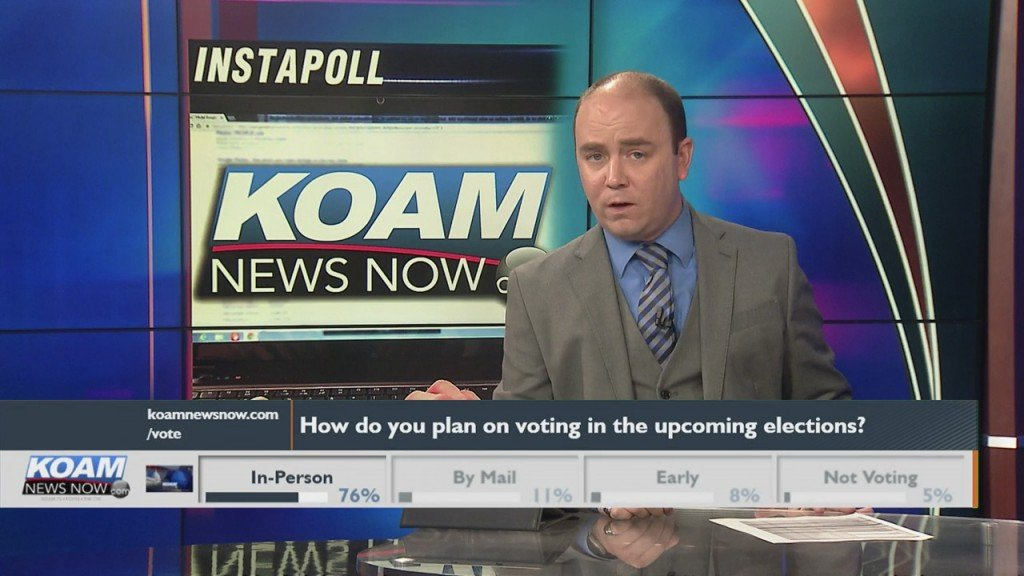 "Koam News Now Instapoll: ""how Do You Plan On Voting"""