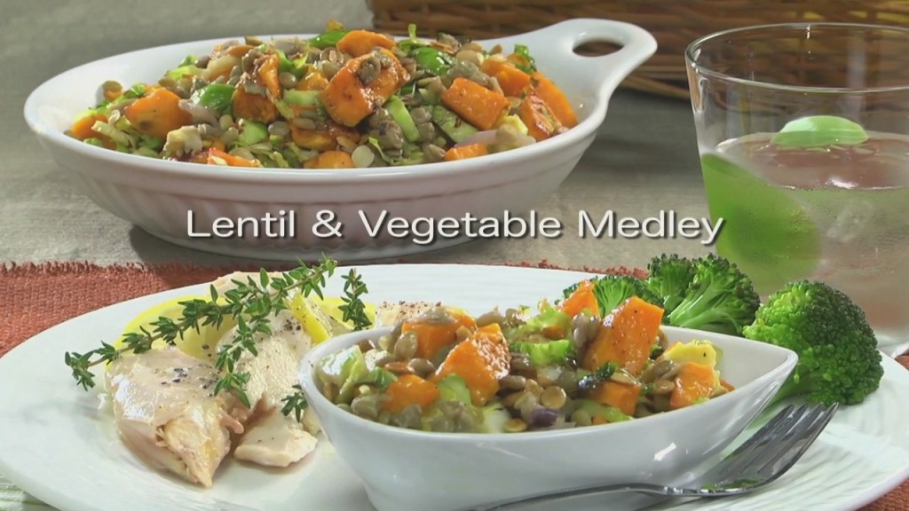 Lentil & Vegetable Medley
