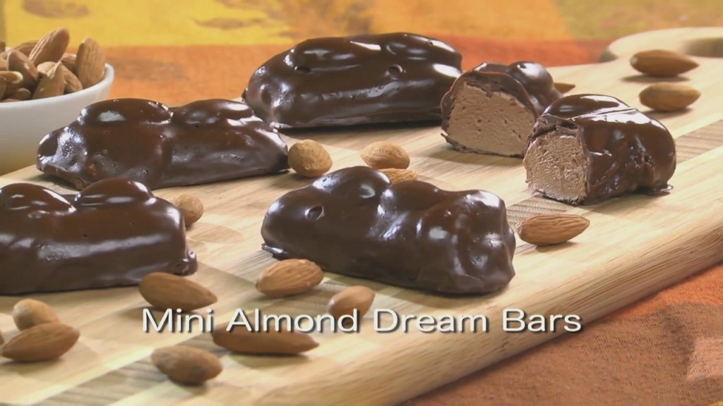 Mr. Food: Mini Almond Dream Bars