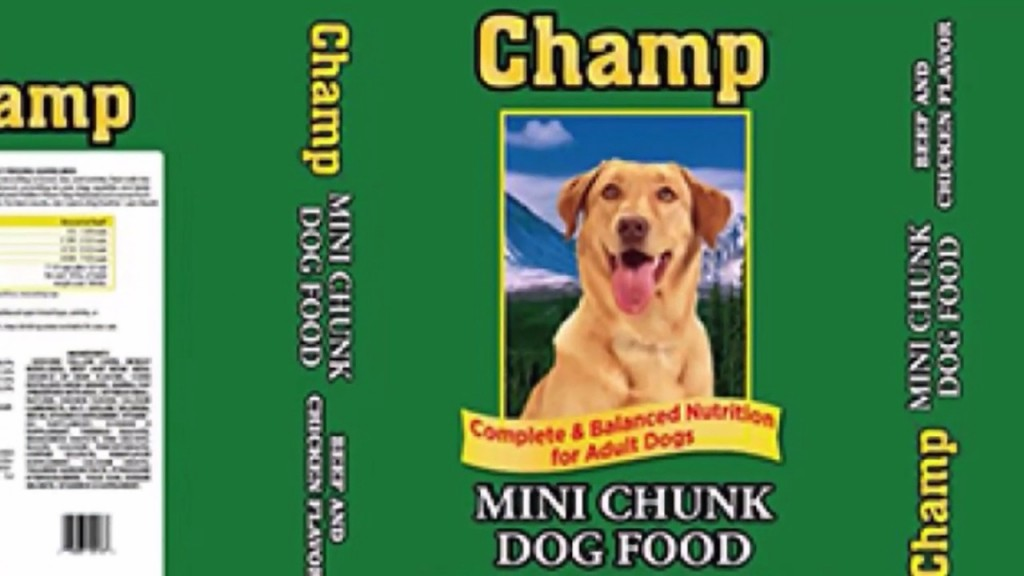 recalled dog food brand