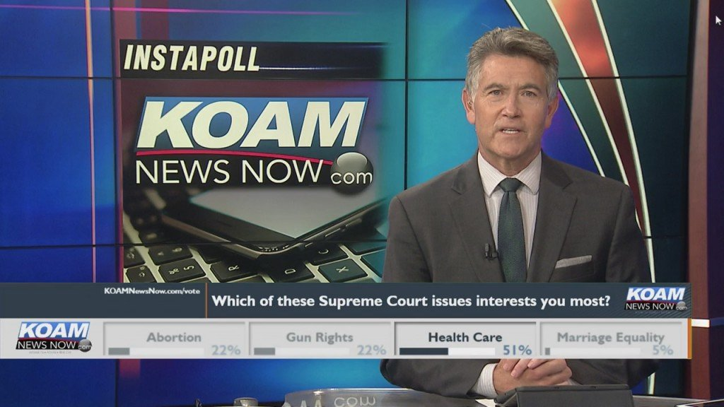 "Koam News Now Instapoll:""which Supreme Court Issues Interests You Most?"""